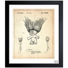 Toy Troll Lure 1996 Framed Graphic Art
