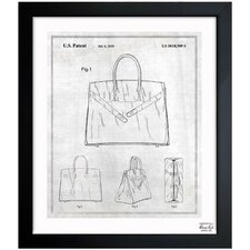 Birkin Handbag 2009 Framed Graphic Art
