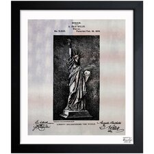 Statue of Liberty 1879 Framed Art