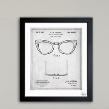 Ray-Ban Wayfarer Spectacle Frame 1953 Framed Art