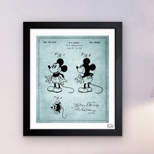 Mickey Mouse 1930 Framed Art