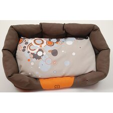 Sparkling Dream Bolster Dog Bed
