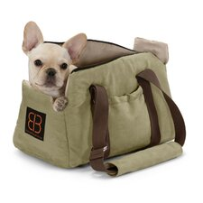 Velvet Bitty Bag Pet Carrier