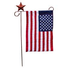 Starfish Garden Flagpole Stand