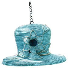 <strong>Evergreen Flag & Garden</strong> Dressy Hat Hanging Birdhouse