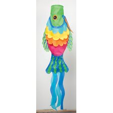 Rainbow Fish Wind Sock