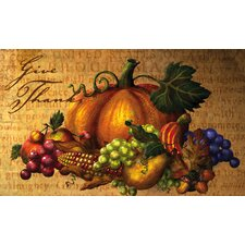 Give Thanks Table Floormat