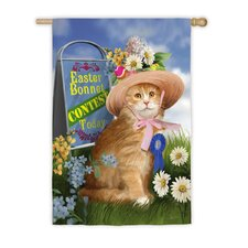 Easter Bonnet Contest Garden Flag