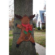 Reindeer Splat Tree Wrap Christmas Decoration