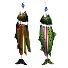 Fish Wind Chime (Set of 2)