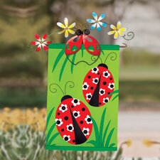 Lady Bug Garden Flagpole