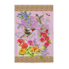 Hummingbird Botanical Garden Flag