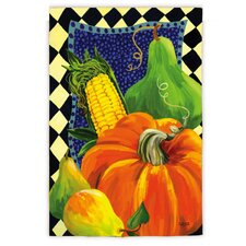 Harvest Bounty Garden Flag