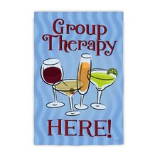 Group Therapy Garden Flag