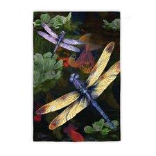 Dragonfly Garden Flag