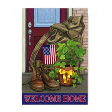 <strong>Evergreen Flag & Garden</strong> Soldier Welcome Home Garden Flag
