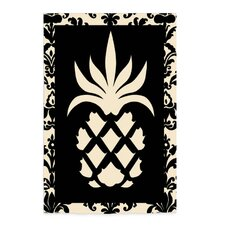 Pineapple Applique Garden Flag