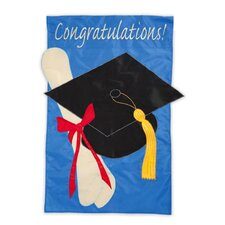 Graduation Congratulations Garden Flag