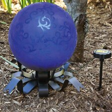 Solar Bow Gazing Ball Stand