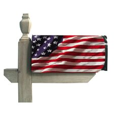 <strong>Evergreen Flag & Garden</strong> America in Motion Magnetic Mailbox Cover