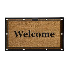 Traditional Welcome LED Mat