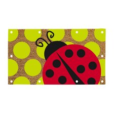 <strong>Evergreen Flag & Garden</strong> Lady Bug LED Mat