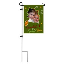 <strong>Evergreen Flag & Garden</strong> Grandkids Spoiled Here Garden Flag