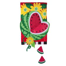 Watermelon Summer Garden Flag