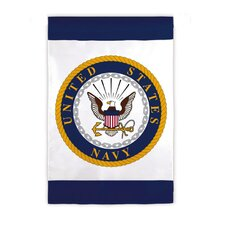 <strong>Evergreen Flag & Garden</strong> United States Navy 2-Sided Garden Flag