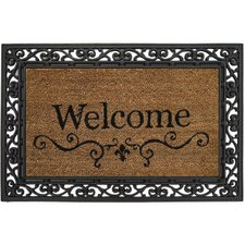 <strong>Evergreen Flag & Garden</strong> Welcome Doormat