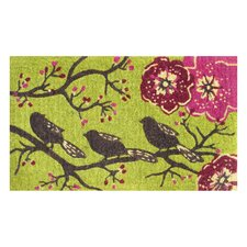 <strong>Evergreen Flag & Garden</strong> Three Little Birds Doormat