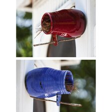 <strong>Evergreen Flag & Garden</strong> Roosting Jar Mounted Birdhouses (Set of 2)