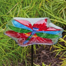 <strong>Evergreen Flag & Garden</strong> Dragonfly Bird Feeder