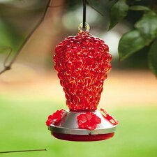 <strong>Evergreen Flag & Garden</strong> Grapes Hummingbird Feeder