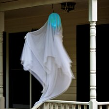 <strong>Evergreen Flag & Garden</strong> Hanging Ghost Decoration