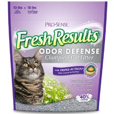 Fresh Results Odor Defense Clumping Cat Litter