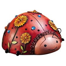 <strong>New Creative</strong> Jeweled Garden Ladybug Statue