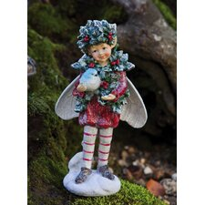 Holiday Shimmer Fairy Statue Christmas Decoration