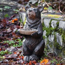 Forest Friends Bear Statue