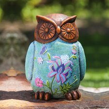 Garden Ladies and Friends Tranquil Owl Statue