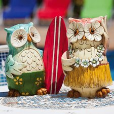 <strong>New Creative</strong> Coast Owl Statue (Set of 2)