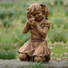 <strong>New Creative</strong> Girl with Firefly Solar Statue