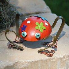 Cheerful Garden Frog Statue