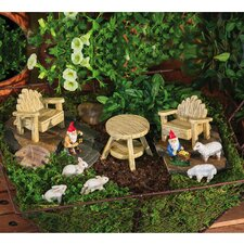 <strong>New Creative</strong> Rustic Garden Furniture Set Statue