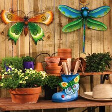 Garden Brights Dragonfly and Butterfly Wall Decor