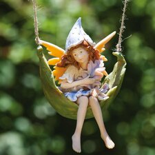 <strong>New Creative</strong> Petal Fairies Playful Pixie Statue