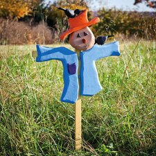 <strong>New Creative</strong> Bloomwood Meadows Scarecrow Garden Stake