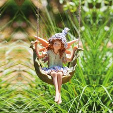 Petal Fairies Puckish Pixie Statue