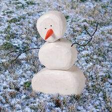 Bloomwood Meadows Snowman Statue Christmas Decoration