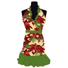 Boughs of Holly Apron